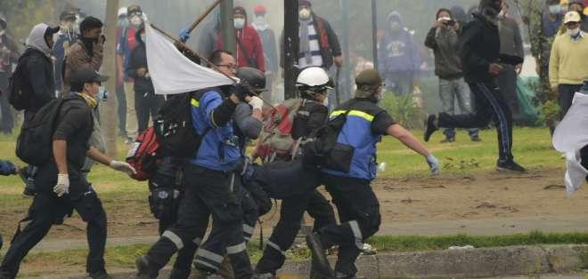 Según las autoridades, hay 1.340 heridos.Foto: AFP