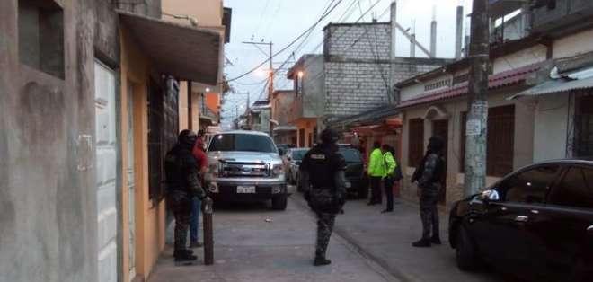 Exalcaldesa de Durán detenida por supuesta relación con paro. Foto: Fiscalía