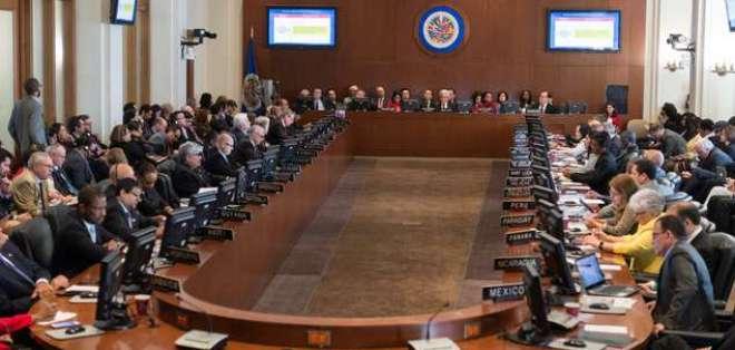 La sesión está prevista para el 15 de octubre. Foto: OEA