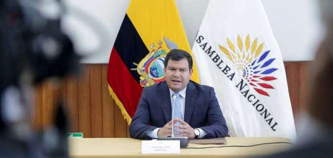 Presidente del Parlamento aseguró que actuó con cautela durante la crisis. Foto: Flickr Asamblea