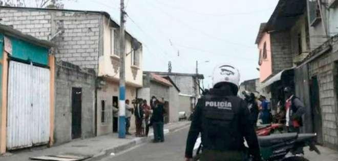 GUAYAQUIL, Ecuador.- El hecho ocurrió la noche del sábado 12 de octubre. Foto: Fiscalía