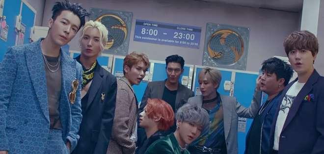 Super Junior estrena videoclip como abreboca de su próximo disco.