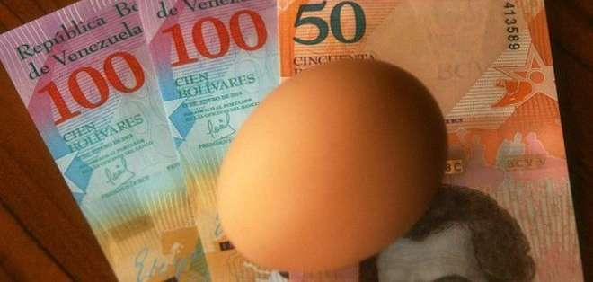 Venezuela sufre hace años de hiperinflación, una subida pronunciada de los precios.