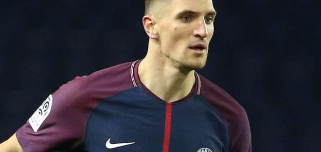 Thomas Meunier, lateral del PSG.