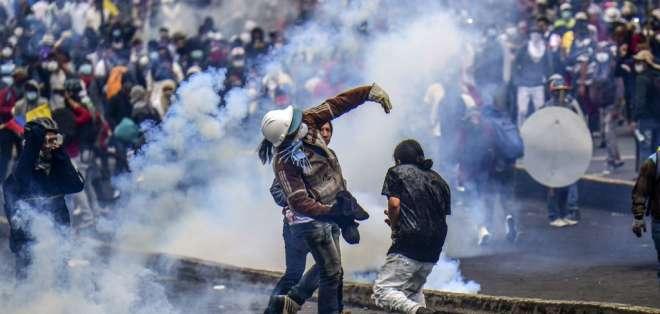 41 ciudadanos venezolanos detenidos por actos vandálicos durante protestas. Foto: AFP - Referencial