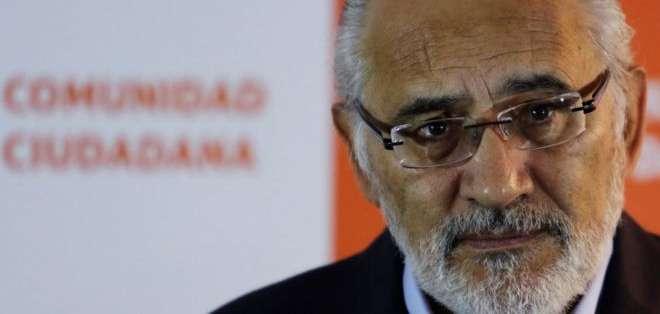 Carlos Mesa fue presidente de Bolivia entre 2003 y 2005.
