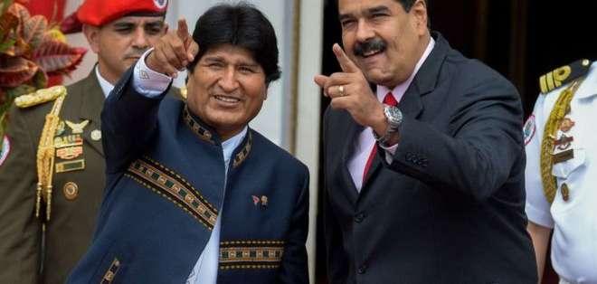 Tanto Morales como Maduro son líderes socialistas, pero el resultado de sus políticas económicas difiere mucho. Getty Images