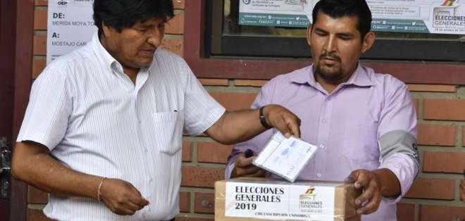 La decisión de Morales de postularse para un cuarto mandato es fuertemente criticada por la oposición. Foto: AFP