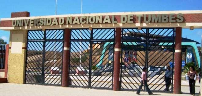 La Universidad Nacional de Tumbes es una de las preferidas por los ecuatorianos. Foto: Cortesía