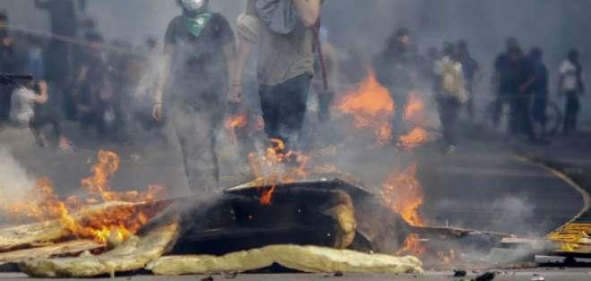 Aumentan a 11 los fallecidos por estallido social en Chile. Foto: AFP - Referencial