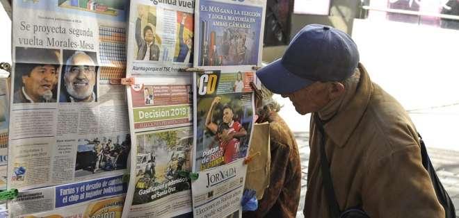 Sin embargo, imperaba clima de suspicacias tras 20 horas de parálisis de conteo electoral. Foto: AFP