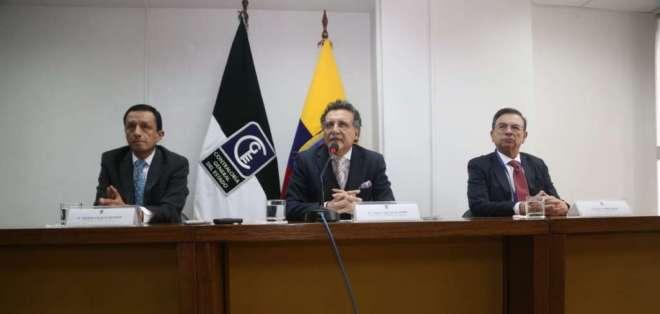 El contralor, Pablo Celi, anunció que ordenó el inicio de una auditoría a la Prefectura de Pichincha. Foto: API