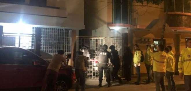 Desarticulan red de tramitadores de licencias en Guayaquil. Foto: Fiscalía Ecuador