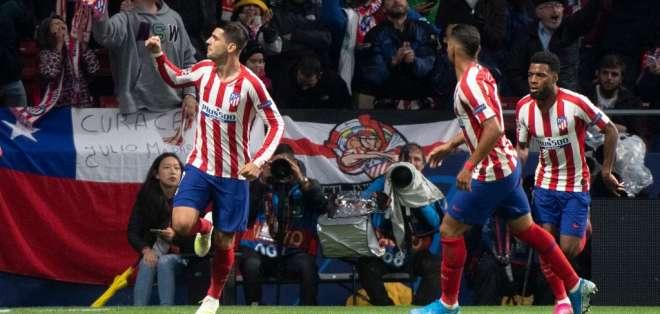 El atacante español anotó el único gol del partido ante Bayern Leverkusen. Foto: CURTO DE LA TORRE / AFP