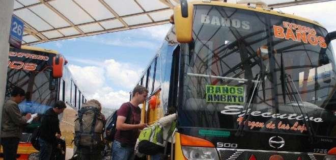 Varias operadoras de transporte público han sido sancionadas por la paralización.