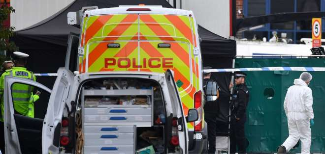 un irlandés del norte de 25 años, fue arrestado bajo sospecha de asesinato. Foto: AFP