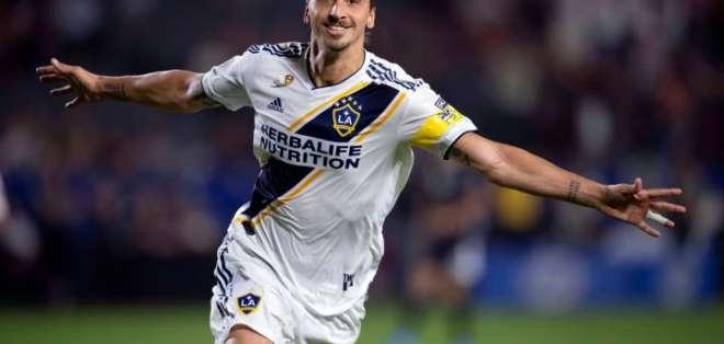 Ibrahimovic es uno de los goleadores de la MLS.