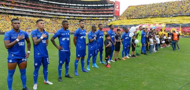 Los 'azules' juegan esta noche la ida de semifinales de la Copa Ecuador 2019. Foto: API
