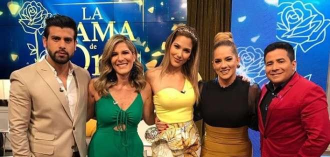 Gaby Díaz se integra a la familia de 'En Contacto'. Foto: IG