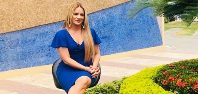 Gabriela Pazmiño entrevista para 'Ecuavisa.com'