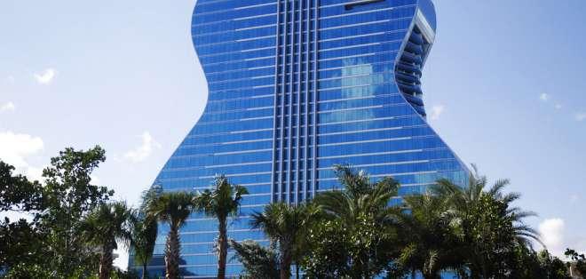 HOLLYWOOD (FL), Estados Unidos.- La edificación tiene 600 habitaciones. Foto: AP