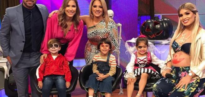 María Fernanda Peréz en 'En Contacto'
