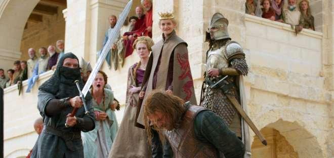 """Escena de la primera temporada de """"Game of Thrones"""". Foto: AP"""