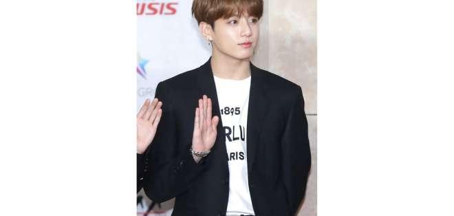 Jungkook durante los premios Asia Artist Awards en Incheon, Corea del Sur, el 28 de noviembre de 2018. Foto: AP