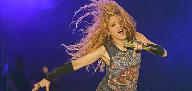 """La colombiana proyectará una película sobre su gira: """"El Dorado World Tour"""". Foto: AFP"""
