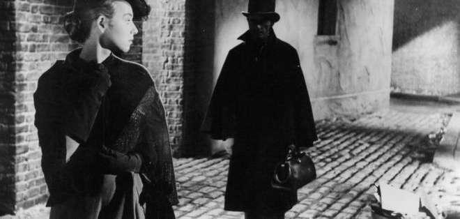 """Escena de la película """"Jack The Ripper"""", 1959."""