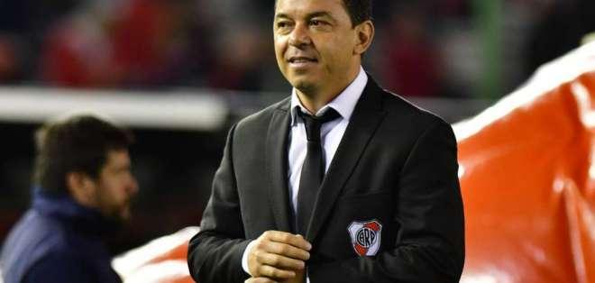 Marcelo Gallardo, estratega argentino.