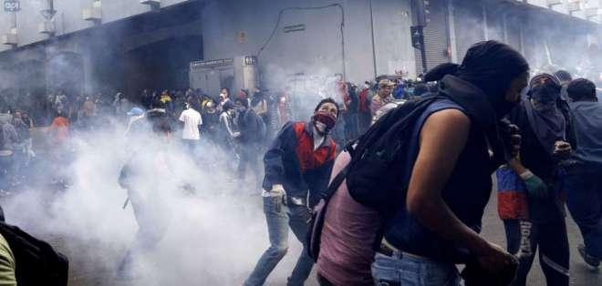 Se trata del Código de Seguridad propuesto por el gobierno de Moreno. Foto: AFP