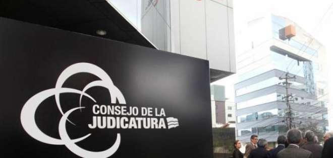 Judicatura designa 9 jueces para 8 provincias. Foto: Archivo - Referencial
