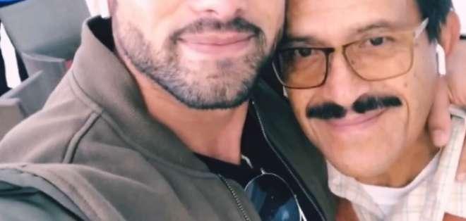 Fallece el padre del presentador y actor Efraín Ruales. Foto: IG
