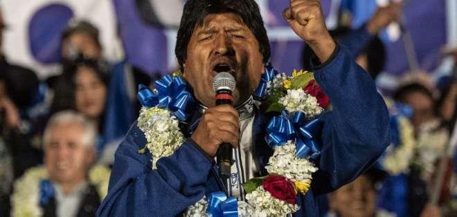 Evo Morales renunció a la Presidencia de Bolivia el domingo. Foto: Archivo AFP