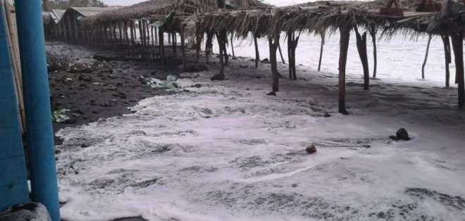 Alertan sobre posible tsunami que afectaría El Salvador. Foto: Referencial