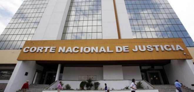 Jueces y conjueces de la Corte Nacional fueron evaluados por el Consejo de la Judicatura. Foto: archivo