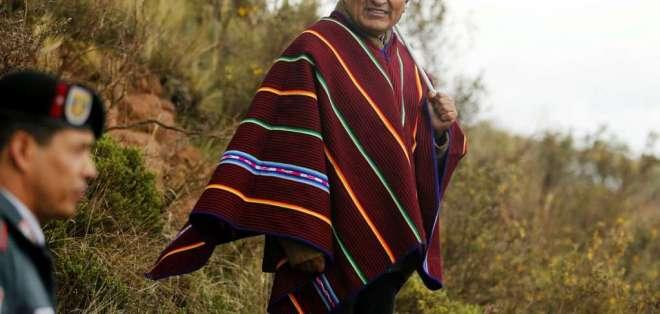 México concedió asilo a Evo Morales luego de que renunciara a la presidencia de Bolivia. Foto: Archivo AFP