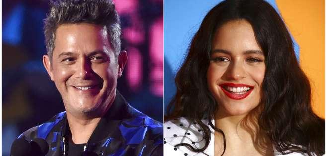 Sanz y Rosalía están entre los artistas nominados este año al Latin Grammy que actuarán en la ceremonia de este 2019. Foto: AP