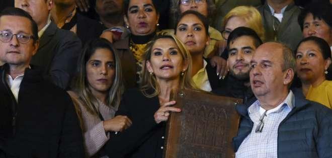 Ocurrió durante sesión legislativa que no contaba con quórum de reglamento en ninguna de sus cámaras. Foto: AFP