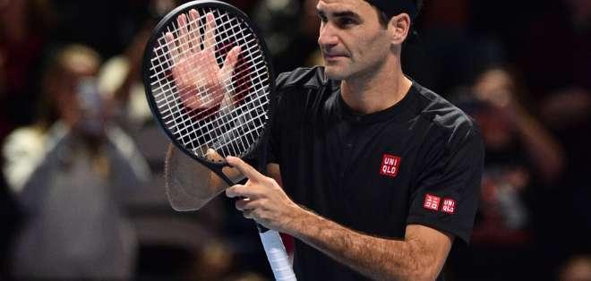 El suizo se jugará su clasificación en la última fecha ante Novak Djokovic. Foto: GLYN KIRK / AFP