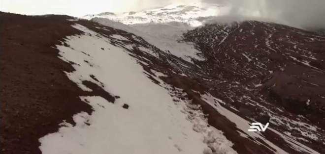 Con la pérdida de los glaciares también se pierde el agua. Foto: Captura de video