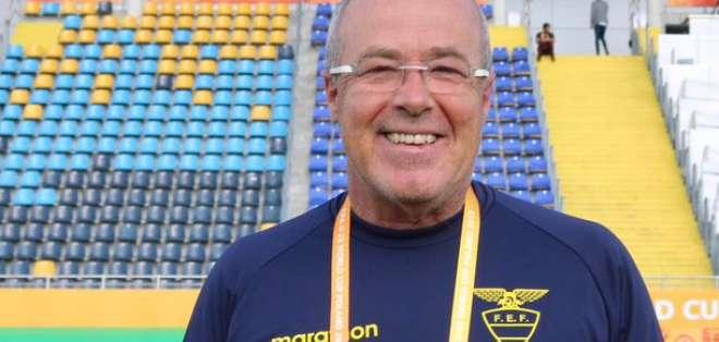 Jorge Célico, entrenador de las selecciones inferiores de Ecuador.