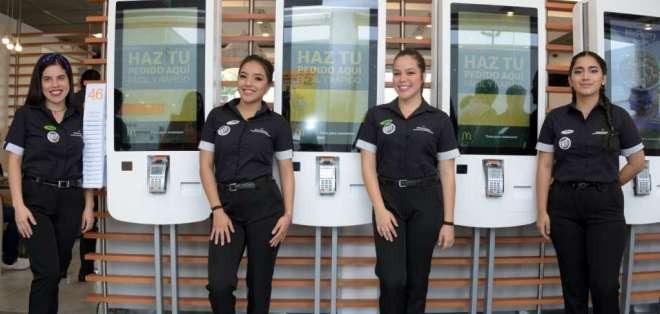 """McDonald's implementa el primer restaurante """"Experiencia del Futuro"""" en Ecuador."""