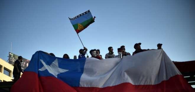 Chile decidirá cambios en la Constitución en un plebiscito. Foto: AFP