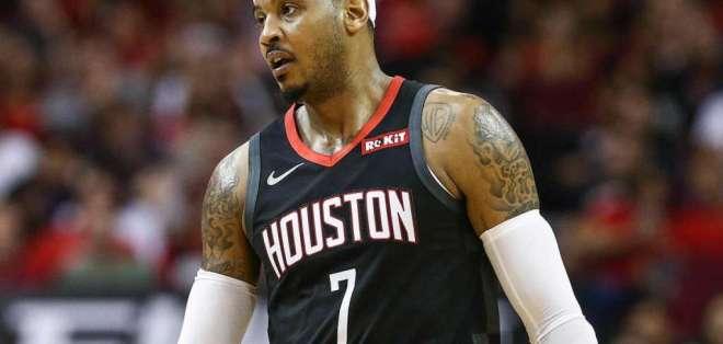 Carmelo Anthony, figura de la NBA.