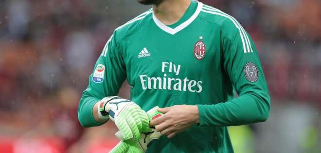 Gianluigi Donnarumma, figura del AC Milan.
