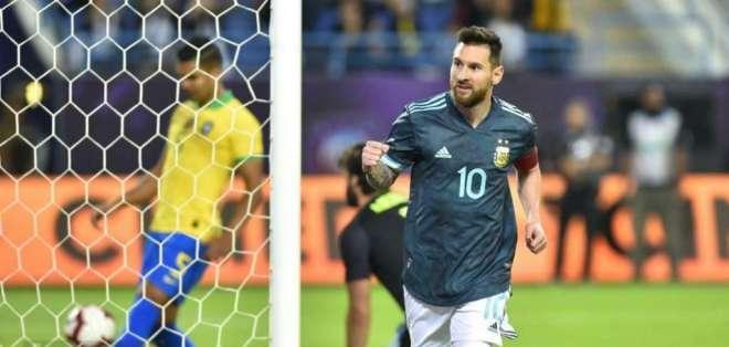Lionel Messi, figura de Argentina.