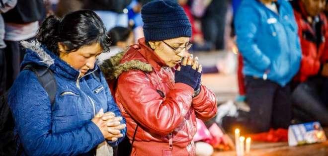 La Policía calcula que participarán en la romería alrededor de un millón de personas. Foto: Bomberos Quito