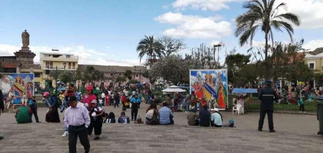 El Municipio de Quito y autoridades de control desplegaron operativos para garantizar la seguridad. Foto: @SeguridadeQuito